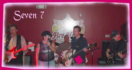 Seven 7 band  plays Christmas parties and is great Christmas party band in the southeast Uninted States